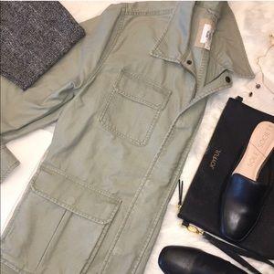 GAP Olive Military style Jacket